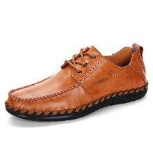 2019 men casual shoes breathable casual shoes men genuine leather casual shoes men casual shoes leather Driving