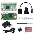 2018 Raspberry Pi Zero W Starter kit+Acrylic Case+Heat Sink+20 pin GPIO Header+Screwdriver+Power Supply+16G SD Card/5MP Camera