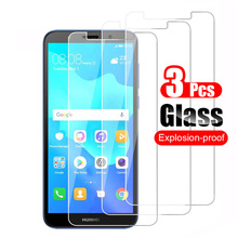 3Pcs Tempered Glass For Huawei Y5 Lite 2018 Screen Protector Guard Protective Gl