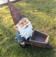 High 30cm American Country Elf Dwarf Cart Home Farm Decoration Micro Landscape Garden Gardening Decoration JUN3