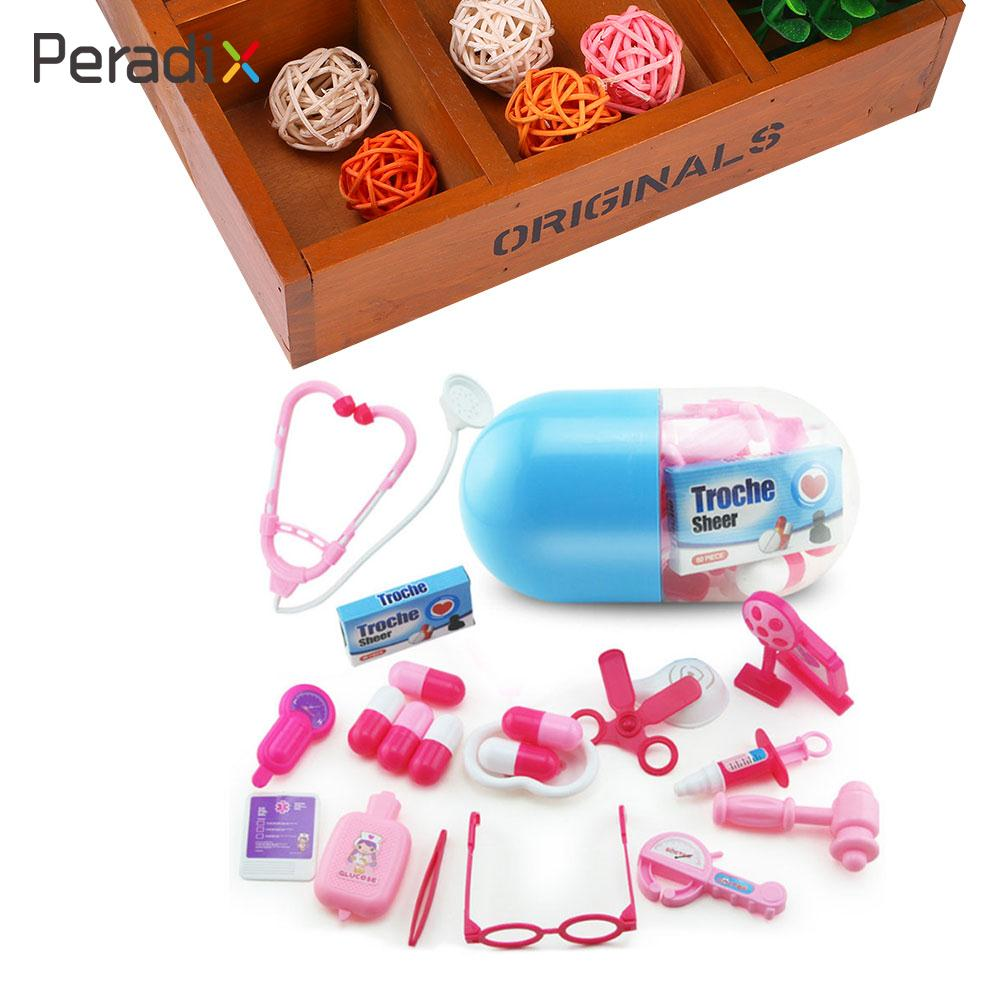 Doctor Play Toy Capsule Kits Children Educational Pretend Play Role Play Toy