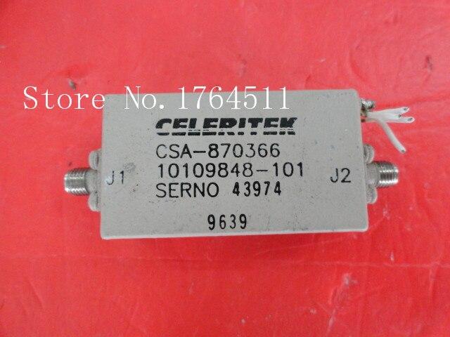 [BELLA] CELERITEK CSA-870366 15V SMA Supply Amplifier
