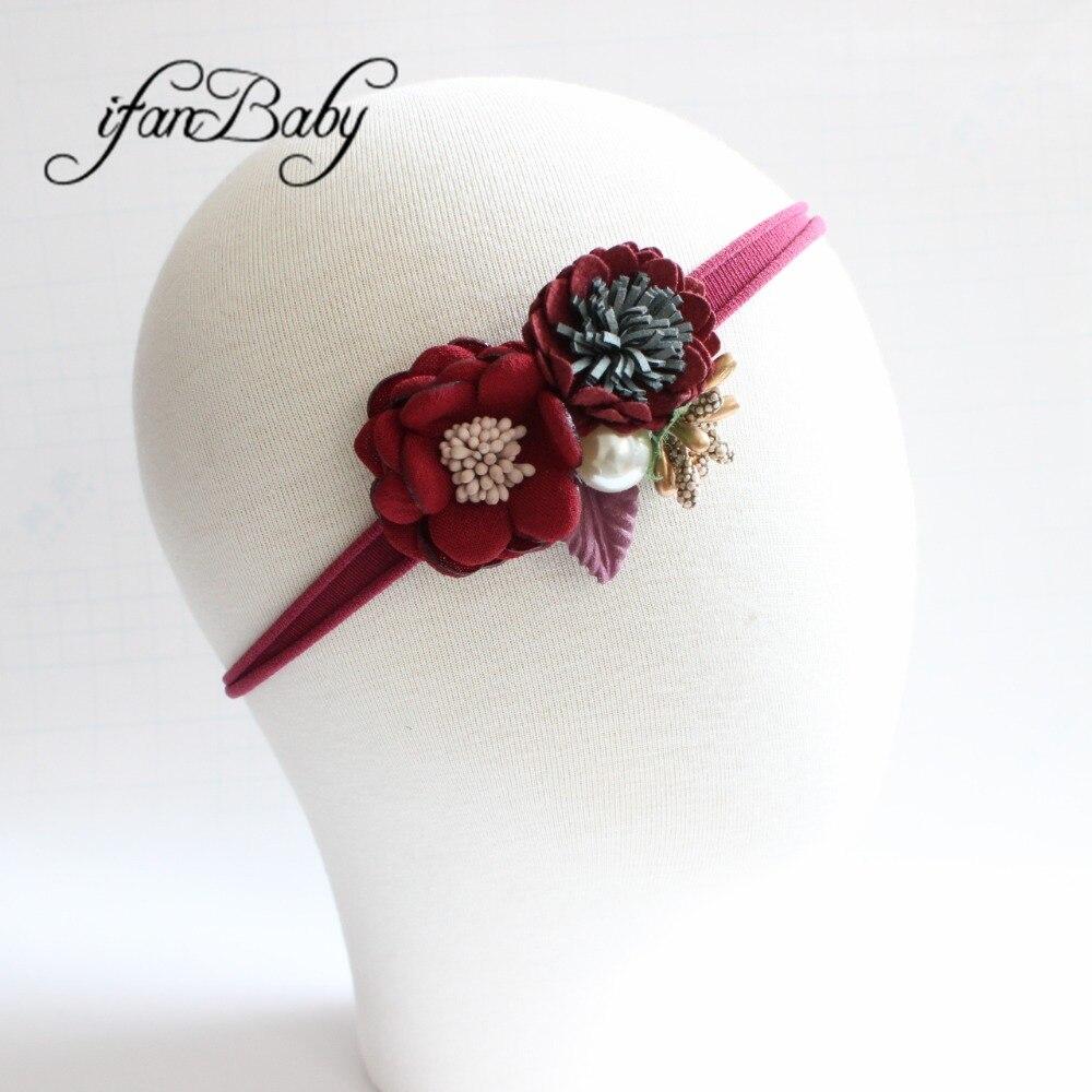 kids girl nylon flower headband (7)