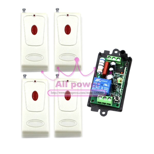 Home Automation Wireless RF Remote Control Light Switch 220V 110V