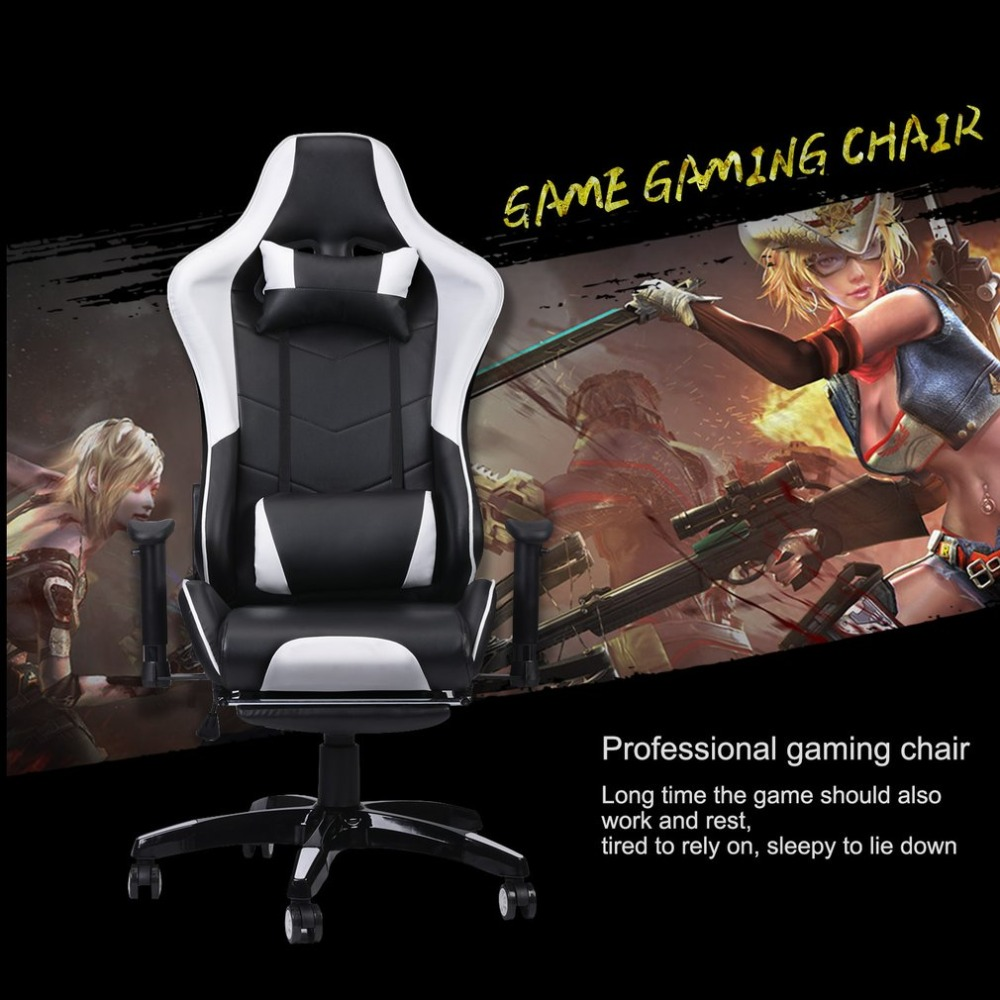 Incredible Racing Gaming Office Chair Computer Desk 360 Degree Chair Squirreltailoven Fun Painted Chair Ideas Images Squirreltailovenorg