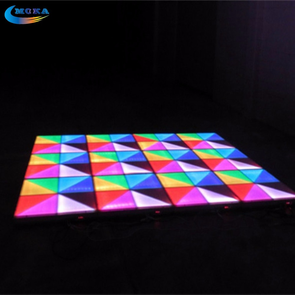 48 Square Meters Led Matrix Dance Floor Professional Sound