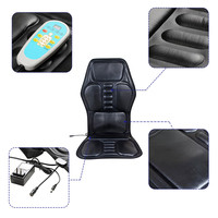 9 PCS Car Heated Massage Mats Multi function Cushions Seats