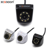 XCGaoon 8 LED Night Vision Car Rear View Camera Universal Backup Parking Camera Waterproof Wide Angle