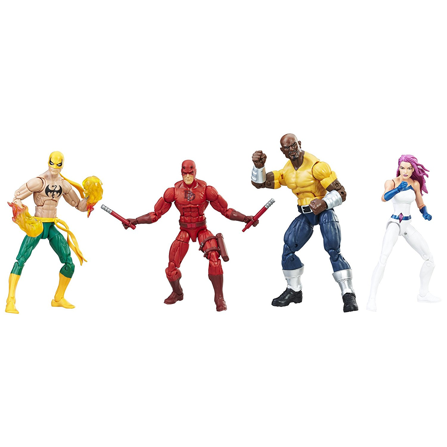 ML Series The Defenders Figure loose Pack Collection toys