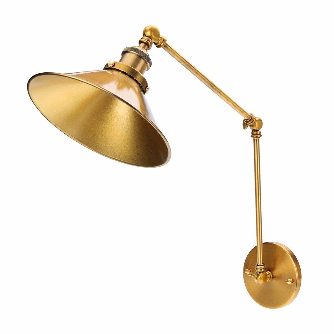 Metall Retro Messing Wandleuchte Langen Schwinge Beleuchtung Leuchte Luxus Cafe Wohnzimmer Lampe MayitrChina