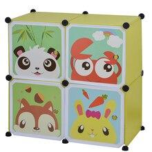Детские простые шкафы DIY ПВХ складной портативный шкаф для хранения общежития стальная рама в сборе студенческий Шкаф