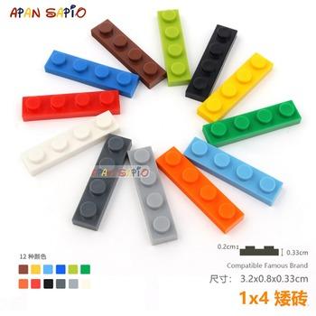 30 sztuk partia DIY bloki klocki cienkie 1X4 edukacyjne montaż budowlane zabawki dla dzieci rozmiar kompatybilny z lego tanie i dobre opinie APAN SAPIO CN (pochodzenie) Unisex 6 lat Mały budynek blok (kompatybilne z Lego) Plastic Bricks Blocks NOT FOR CHILDREN UNDER THE AGE OF 3