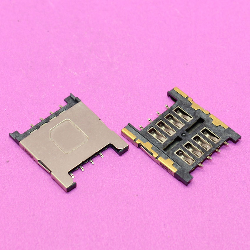 YuXi Brand New Sim Card socket tray slot adapters for HTC G2 G5 G7 G9 G10 G11 cell phone sim card reader holder.