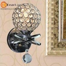 M + odern стиль нержавеющей стали серии бра орнамент стеклянный шар современная серии пункт