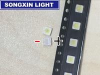 200PCS WOOREE LED Backlight 2W 6V 3535 150LM Cool White WM35E2F YR09B EA LCD Backlight For