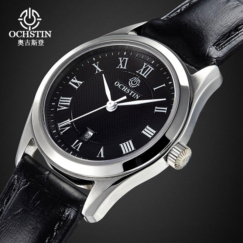 Ladies Fashion Quartz Watch Women Genuine Leather Casual Dress Watches Women Sapphire Glass Watch reloje mujer