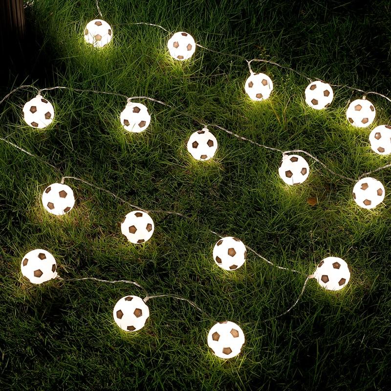 JSEX Fada Seqüência de Luz Com Remot Bola Guirlanda de Férias Led Vela Casa Falso Decoração Do Casamento Da Árvore de Natal Ao Ar Livre Luz