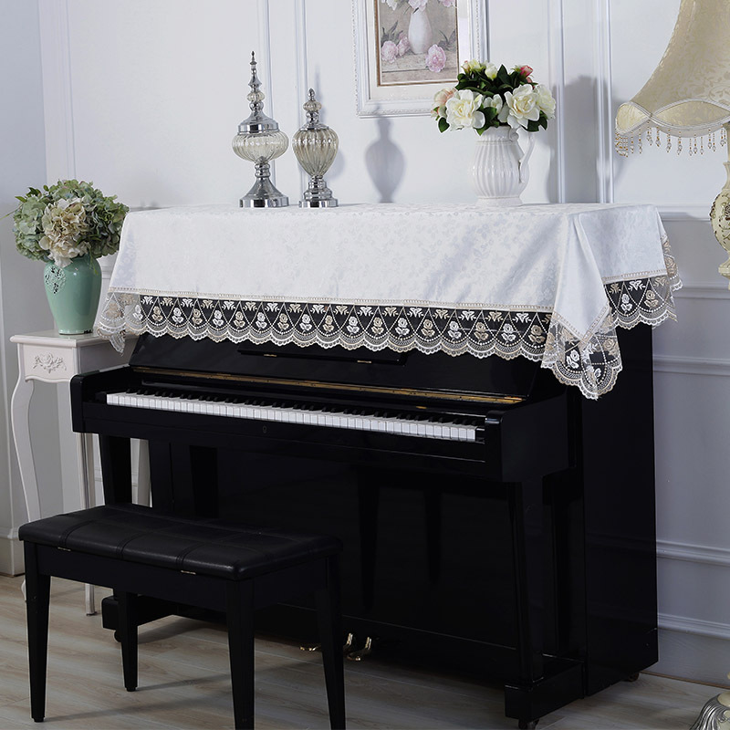 Piano Cover Cloth Covers 88 Keys 61 Grand Decorative Keyboard Towels Upright Electronic Piao Set Towel
