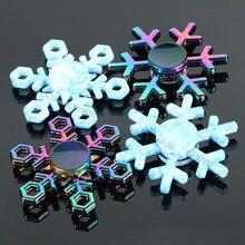 New Snowflake font b Fidget b font font b Spinner b font EDC Hand font b