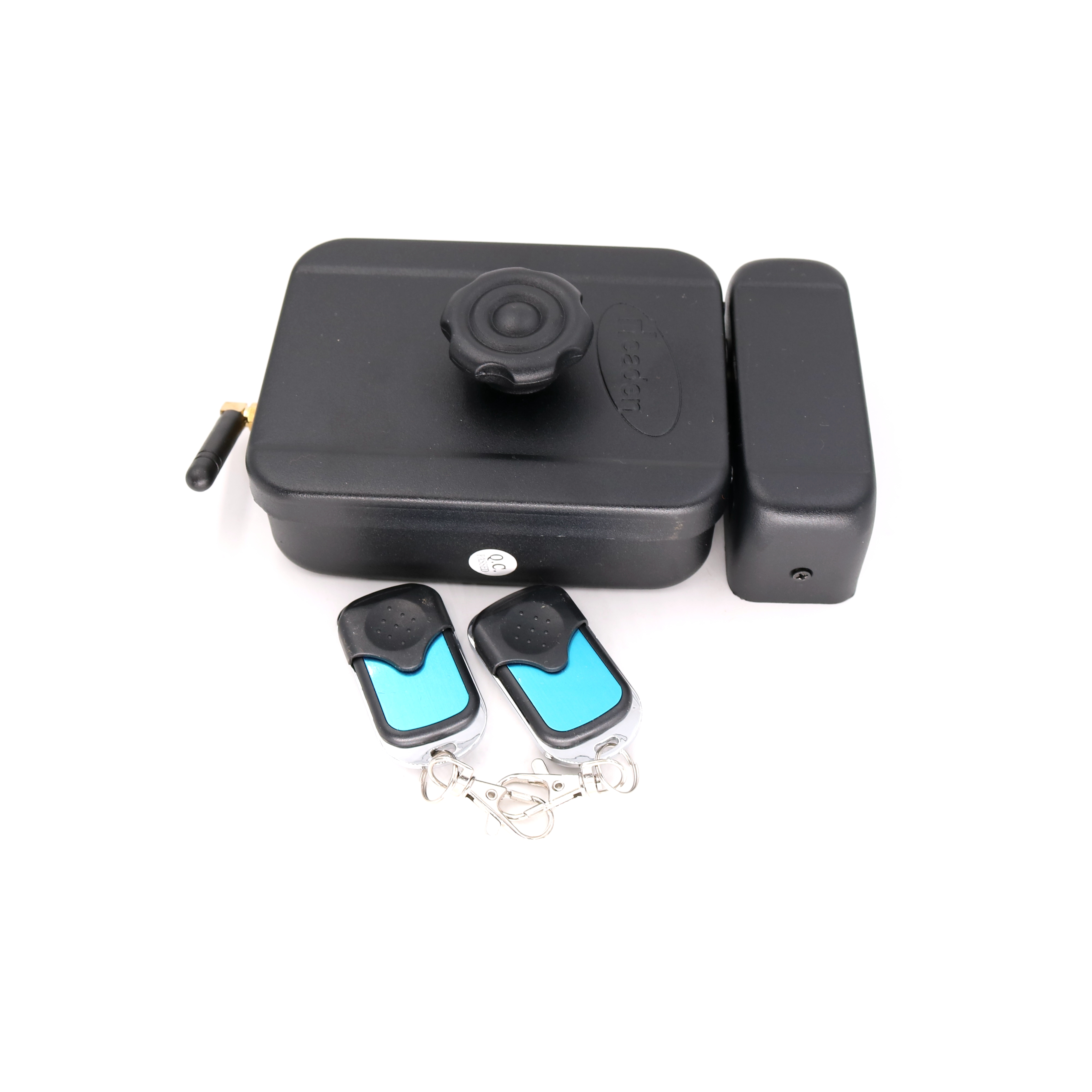 Wireless Electronic Rim Lock remote control motor lock with two remote handle Battery power supply 40km h 4 wheel electric skateboard dual motor remote wireless bluetooth control scooter hoverboard longboard