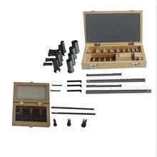 22 шт. шпоночный резак для протяжки+ 6 шт. шпоночный инструмент для резки и втулка и тонкая прокладка с ЧПУ для металлообработки
