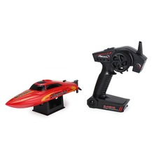 795-3 30km/h 2.4G Brushed High Speed RC Racing Boat Speedboat Ship with Water Cooling System Self-righting Kids Gift.