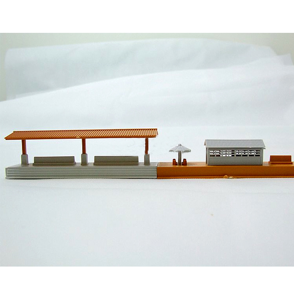 D1034 Electric Train Scene Accessories (waiting Room + Shelters) Educational Boy/ Kids Toy