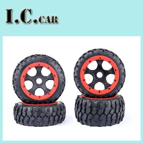 5B 4 Generation gravel tire wheel assembly Kit fit 1 5 hpi baja 5b Rovan KM