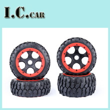 5B 4 Generation gravel tire wheel assembly Kit fit 1/5 hpi baja 5b Rovan KM