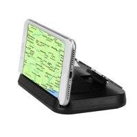 Nouvelle Version Mobile Support de Téléphone De Voiture Monté Stand HUD Universel Mobile GPS Navigation Support Véhicule Téléphone Intelligent Soutien