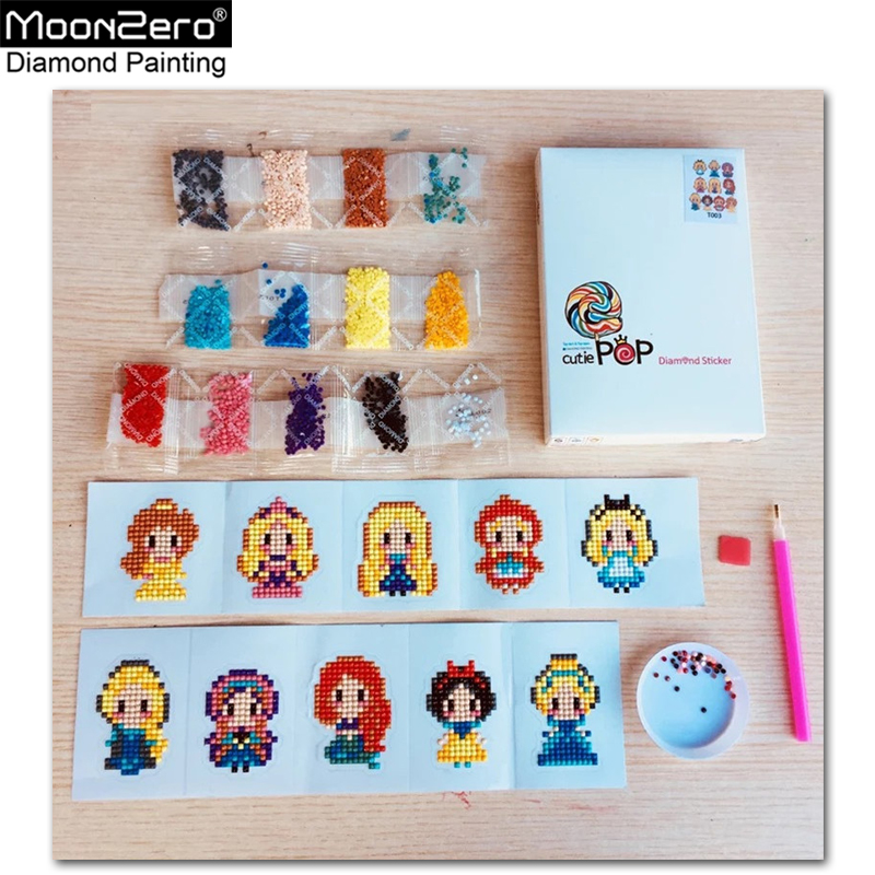5D DIY Patterns Diamond Painting Cartoon Princess Diamond Painting Child Round Diamond Embroidery Sticker Canvas Christmas Kit5D DIY Patterns Diamond Painting Cartoon Princess Diamond Painting Child Round Diamond Embroidery Sticker Canvas Christmas Kit