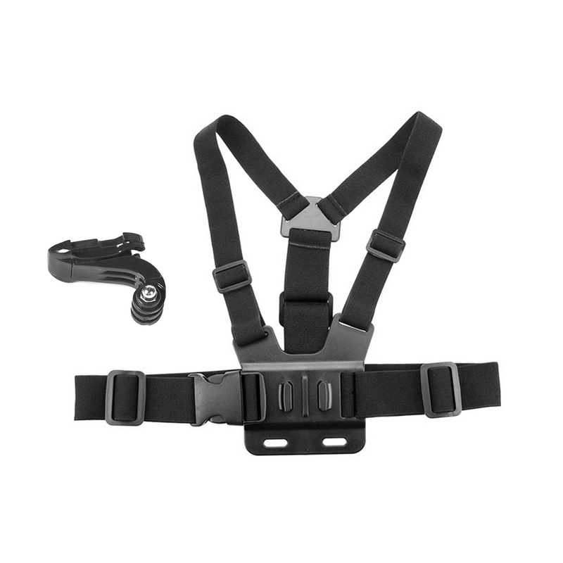 for DJI OSMO Action Camera Chest Strap Mount Belt Sling for Gopro 7 6 5 for Xiao Mi Yi 4K Harness for SJCAM EKEN OSMO Camera in Sports Camcorder Cases from Consumer Electronics