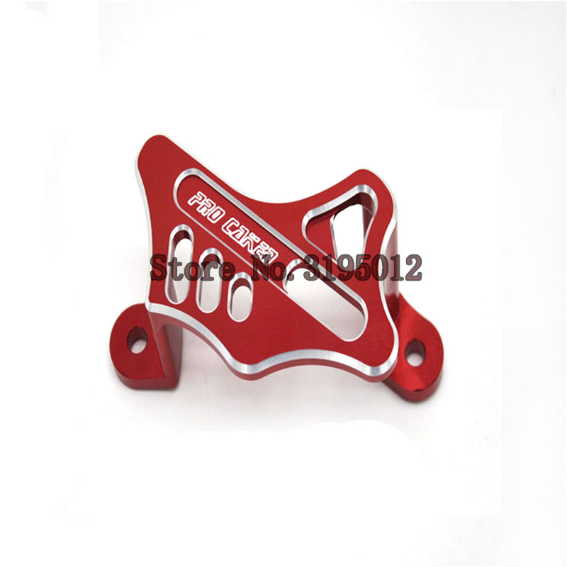Motorcycle Rear Brake Caliper Guard for HONDA CRF450R CRF 450R 2002-2017 CRF450X CRF 450X 2005-2017 CRF450RX CRF 450RX 2017 rear brake caliper mounting with pad for polaris trail boss 325 2000 2002 polaris atv 2003 2004 trail boss 330 brake caliper
