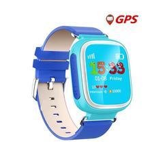 2016ร้อนเด็กGPS Watchสมาร์ทนาฬิกาข้อมือSOSสถานที่ตั้งอุปกรณ์ติดตามสำหรับเด็กปลอดภัยต่อต้านหายไปตรวจสอบเด็กของขวัญQ70 PK Q60 Q50