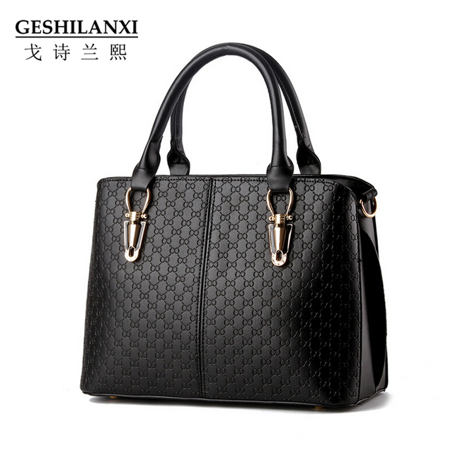 "The new 2016 ""women bag handbag tide female bag leisure stereotypes sweet vogue female bag worn one shoulder bag"