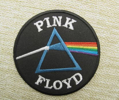 3 Pink Floyd Embroidered Music Band Logo Iron On Patch Emo Goth