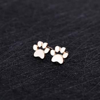 Dog  Cute Paw Earrings 1