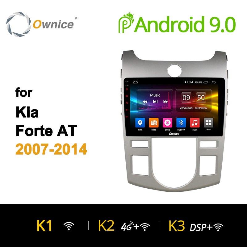 Ownice K1 K2 8 K3 Android 9.0 Octa Núcleo DVD Player Do Carro Para KIA FORTE 2007 2010 2011 2012 2013 2014 Jogador Rádio Do Carro GPS 4G LTE