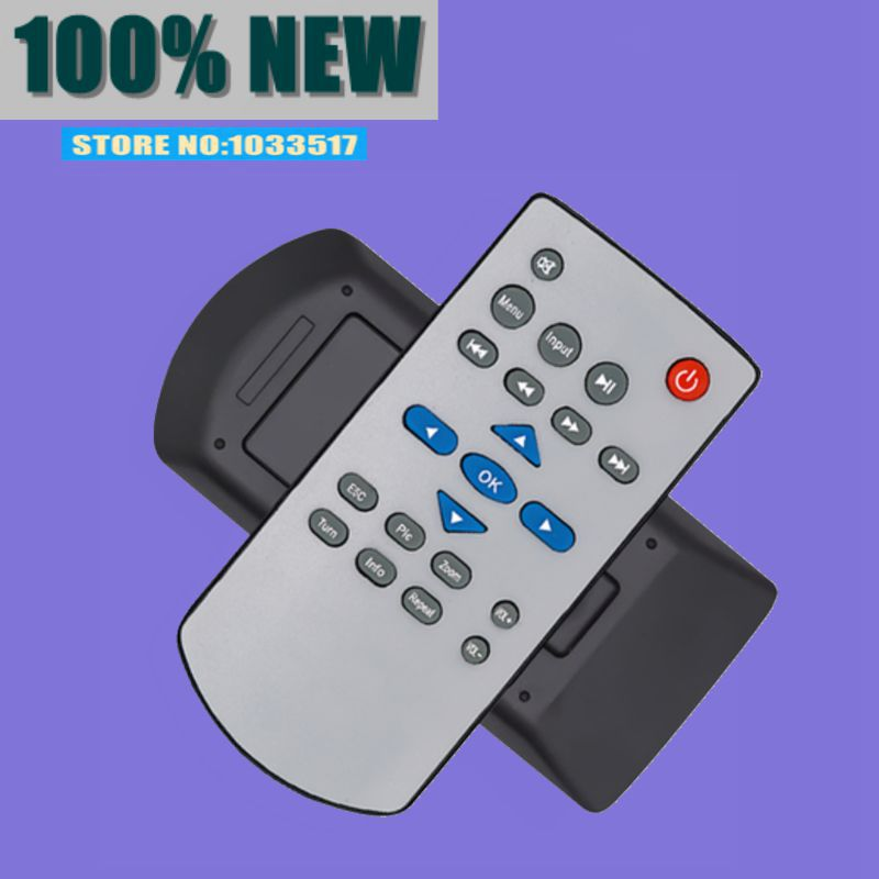 New remote control suitbale for <font><b>unic</b></font> projector uc28 uc30 uc40 uc50 <font><b>uc46</b></font> uc80 controller image