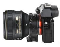 NF NEX 8 stop Abertura Adaptador de Montagem para Nikon Um AI S F G D Montagem Da Lente para NEX 5N 3C A7 A7R VG20 VG900|Adaptador de lente| |  -
