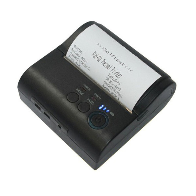 5 шт. Bluetooth Чековый Принтер Bluetooth 4.0 термопринтер 80 мм 90 мм/сек. Принтер, Мобильный Телефон Для Ipad Iphone Samsung Windows