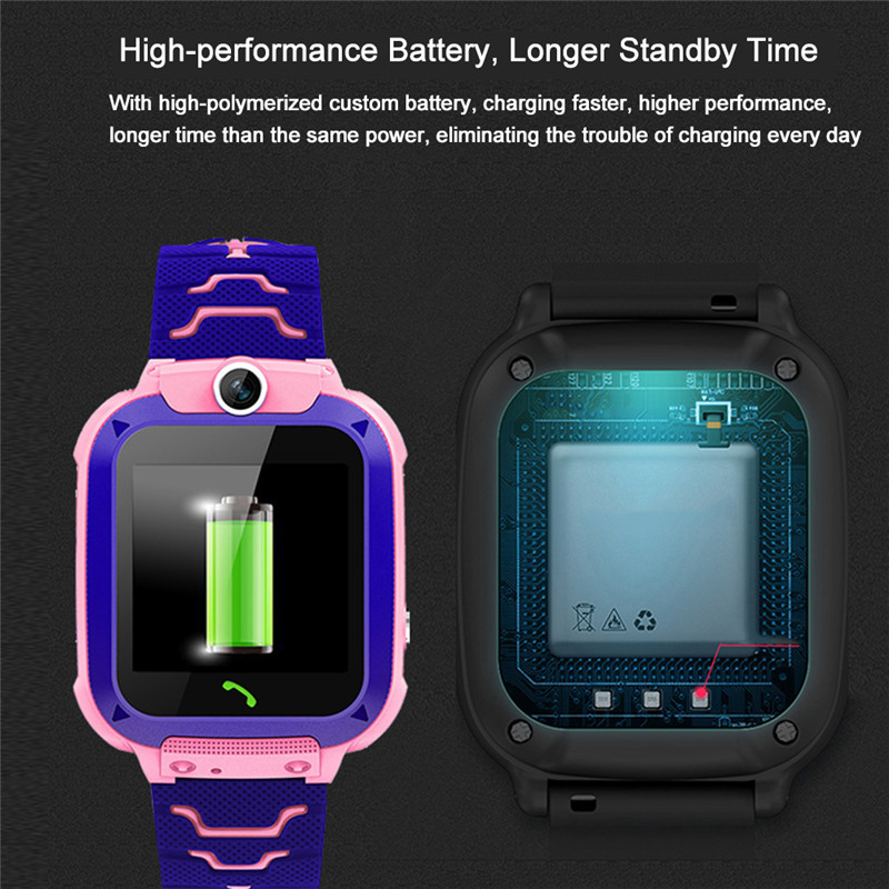 Image 3 - Smart Watch Q12 Smart Phone Watch for Children Student Waterproof Student Smart Watch Dial Call Voice Chat Smartwatch Sports-in Smart Watches from Consumer Electronics
