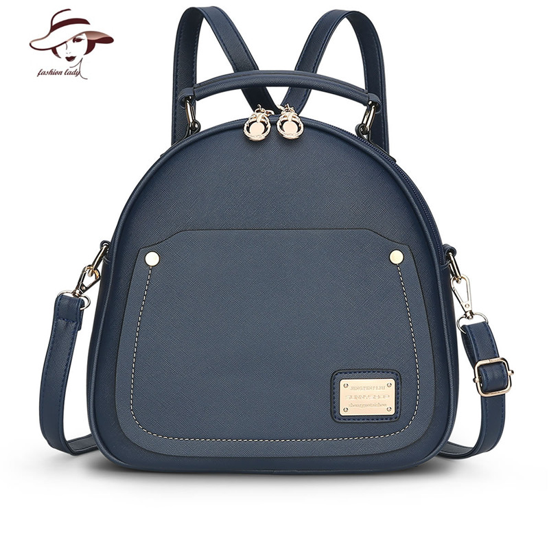 2017 New Fashion PU Leather Women Backpack School Bags For Teenagers Girls Woman Travel Backpacks Ladies Shoulders Bag Knapsack 2017 new fashion backpacks men travel backpack women school bags for teenagers girls pu leather preppy style backpack