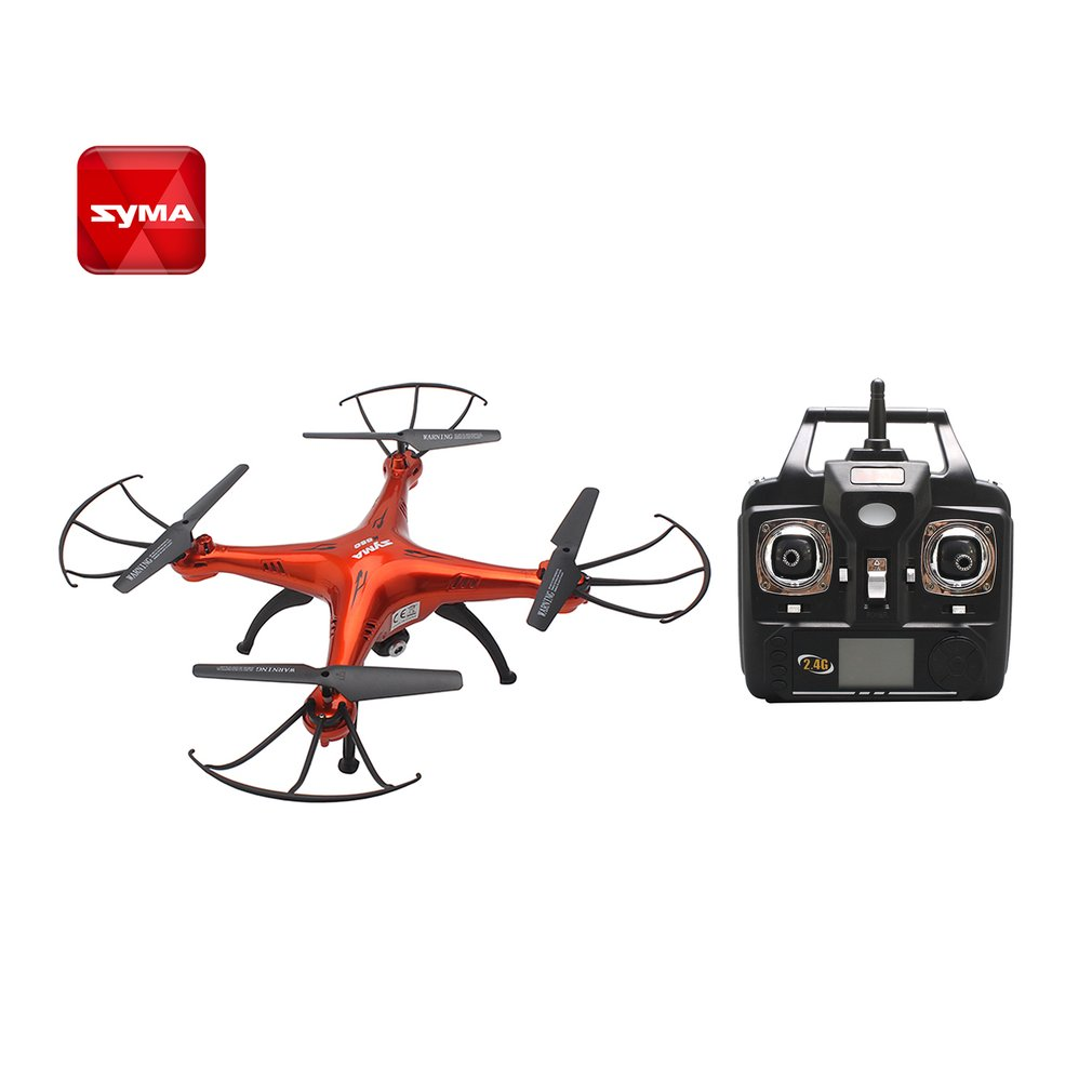SYMA X5SC 2.4G RC Drone Smart RC Quadcopter Aircraft with 720P HD Camera Headless Mode 3D Flips Speed Mode SYMA X5SC Model Drone syma x15w drone with 0 3mp camera wifi fpv rc quadcopter g sensor barometer set height headless mode 3d flips app control drone