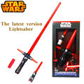 NEW Hot ! 105cm Star Wars lightsaber 7 The Force Awakens Kylo Ren LED scalable Cosplay Darth Vader action figure