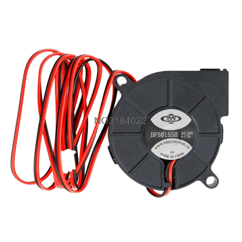 DC 24V Brushless Cooling Turbine Blower Fan 5015 50*62*15mm Durable New -4XFC Drop Shipping nmb 3610kl 05w b49 9225 24v 3 wire cooling fan blower