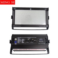 High power Strobe Light 1000W LED RGB 3 in 1 3 Color Atomic 3000 LED Strobe Lighting Stage Party Music Active Lighting
