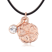 Four-Leaf Clover Jewelry Wholesale Choker Necklace Ladies Necklaces With Pendants New Fashion Mother Necklace Hot Cheap Jewelry