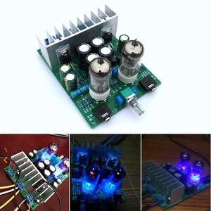 Image 4 - Lusya ハイファイ 6J1 チューブアンプオーディオボード LM1875T パワーアンプボード 30 ワットプリアンプ胆汁バッファ DIY キット/完成した