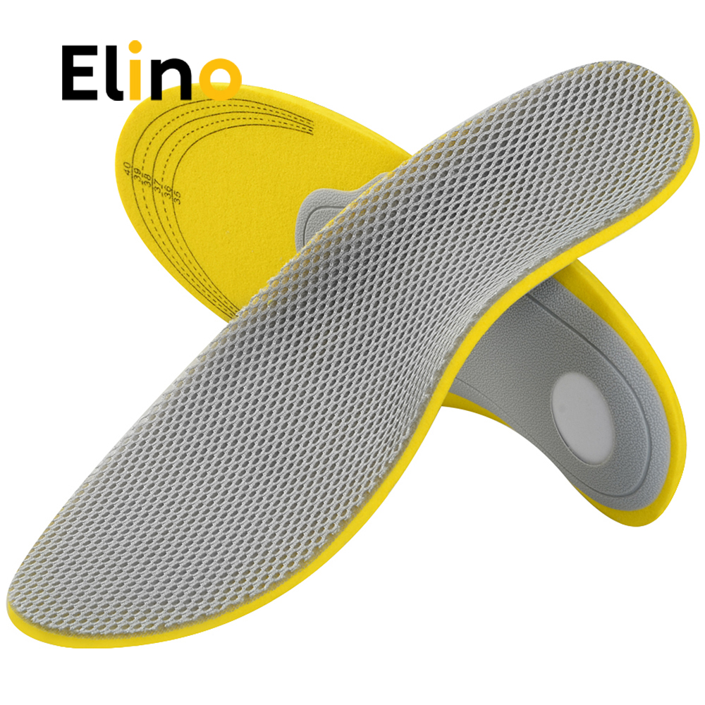 Elino Comfortable Orthotics Orthopedic Flat Foot Insoles Arch Support for Men Woman Shoe ...